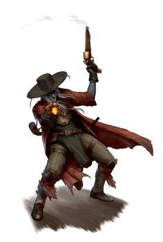 Hobgoblin Gunslinger Pistelaro - Ironfang Invasion - Pathfinder PFRPG DND D&D d20 fantasy
