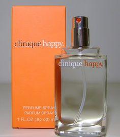 Clinique: Happy un profumo brioso Perfume Parfum, Perfume And Cologne, Parfum Spray, Perfume Bottles, Men's Cologne, Clinique Happy, Happy Perfume, Happy Love, Beauty Inside