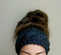 Chunky Cable Knit Headband - Free Knitting Pattern from The Snugglery