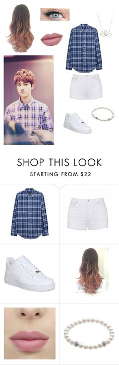 """""""D.O. Inspired look"""" by btsbxtch ❤ liked on Polyvore featuring Ally Fashion, NIKE, Nashelle and EXO"""