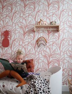 Roomblush, wallpaper since 2013 Tropical Wallpaper, Kids Wallpaper, Kids Decor, Home Decor, Baby Room Decor, Kid Spaces, Our Kids, Children Photography, Playroom