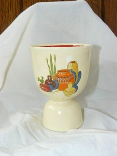 Homer Laughlin Mexicana Egg Cup