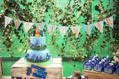 Slug Terra Birthday Party Ideas | Photo 1 of 20