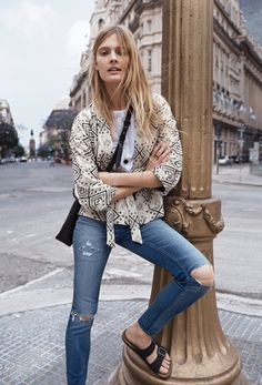 Effortless tomboy style. Easy for travel, weekend wear and everyday. Gotta love the Birks!