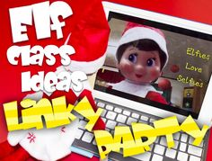 Elf+on+the+Shelf+Classroom+Ideas+Video+and+Linky+Party!+Link+up+and+join+the+fun!