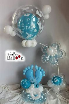 Rubber Ducky Baby Shower Theme Ideas - Home Page Balloon Arrangements, Balloon Centerpieces, Baby Shower Centerpieces, Balloon Decorations, Baby Balloon, Baby Shower Balloons, Baby Shower Parties, Baby Shower Themes, Ducky Baby Showers
