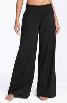 Not that I would pay $92.00 for a lounging pant. Hard Tail Voile Pants available at Nordstrom