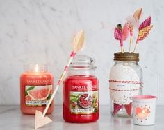 Discover our two new fragrances release in time for #Valentines; but perfect all year round! Enjoy the tangy sweet, ripe and delicious aromas of Red Raspberry as well as the tingly citrus burst of Pink Grapefruit.