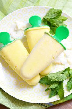 Mangós-kókuszos jégkrém recept - Kifőztük, online gasztromagazin Ice Cream Freeze, Frozen Yoghurt, Hungarian Recipes, Sorbet, Gelato, Paleo Recipes, Fudge, Dairy, Cheese