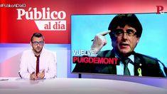 La vuelta de Puigdemont y otras noticias del informativo 'Público al Día' del 6 de abril de 2018
