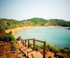 Cavalleria Beach in Es Mercadal, Islas Baleares *Really nice beach