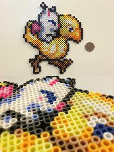 Final Fantasy 6 - Mog - bead sprite magnet