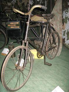 Bianchi Militärrad, ca 1914