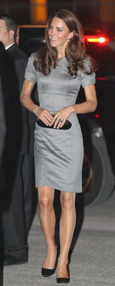 Kate Middleton in pantyhose