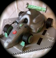 Mercedes Formula 1 F1 cake