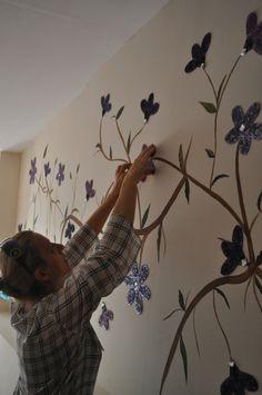 Duvar dekorasyonlarımızdan bir örnek..