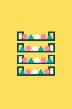 Geometric Animated GIFs by Iain Acton | Inspiration Grid | Design Inspiration