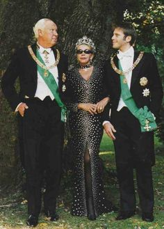 Prince Vittorio Emmanuele his wife, Marina and son Emmanuele Filiberto.