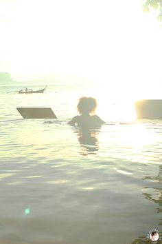 The Global Girl Travels: Ndoema greets the sunrise at Koh Yao Noi, Thailand's last unspoiled paradise.