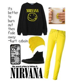 """Nirvana Christmas"" by riley-motes on Polyvore featuring Chicnova Fashion, Versace, Converse and Target"