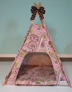 Vintage Kandy Tenthouse Suites -  A Posh House for Dog,Doll,Cat - Pink Chocolate Mint