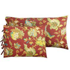 Scarlett Floral Pillow Shams*pier 1 $7 small
