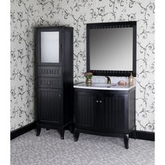 Look no further for options when it comes to remodeling your bathroom. This handsome and expansive Country Style Vanity Set is a great start for a brand new look. Four piece set is matched in finish and fully assembled.