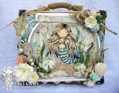 The Paper Nest: Mermaid Ellie with Seahorse