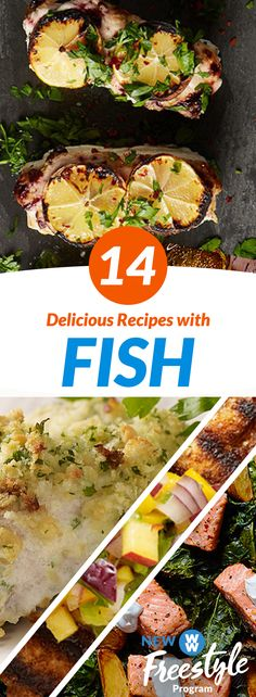 14 Tasty Fish Recipes | All your favorite fish is now 0 SmartPoints on the all-new WW Freestyle: a total game changer!
