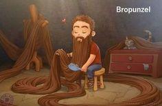 Bropunzel! No...stop...I can't even...LMFAO!
