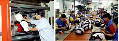 Các doanh nghiệp sản xuất mũ bảo hiểm