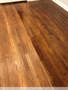 The Hardwood Floor Refinishing Adventure Continues Tip For Getting A Gorgeous Finish FloorsOak FlooringColor