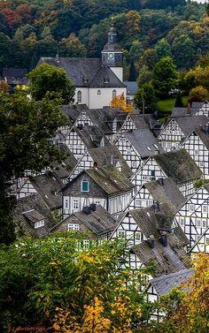 Freudenberg, North Rhine-Westphalia, Germany | by Polybert49