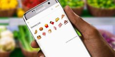 Post your emoji grocery list. We'll guess what you're cooking. Go. #GalaxyS7