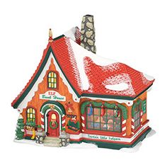 "Department 56: Products - ""North Pole, The Magic Of Christmas"" - View Lighted Buildings"