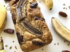 Nut Free, Dairy Free, Bread Recipes, Cake Recipes, Date Bread, Biscuits Graham, Date Cake, Seed Bread, Easy Banana Bread