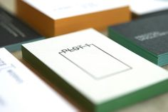 edge painting on business cards by Evolution Press.