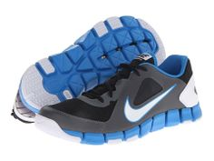 I TOTALLY LOVE THIS SHOES!!!  #IWANTYOU ⏩ ✔️ Nike Flex Show TR 2 Black/Cool Grey/White - Zappos.com Free Shipping BOTH Ways