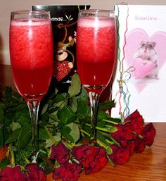 Jenny Eatwell's Rhubarb & Ginger: Moscato Love - a Valentine's Day cocktail (or any ...
