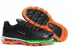 Nike Air Max Tn Requin/Tuned +2009 Chaussures Basket pour Homme Noir/Orange 373437-ID6