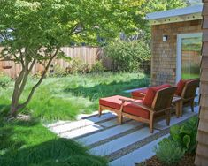 Garten Federgras Engelhaar schöne Gestaltung Idee