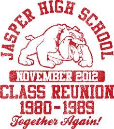 t shirt design vintage class reunion desn 484v1 - Class Reunion T Shirt Design Ideas