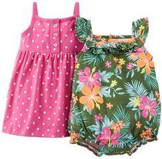 Carters Baby Girls 2-pk. Hibiscus Dot Dress Set #babygirl, #promotion