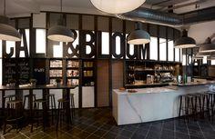 VoyeurDesign - Calf & Bloom, el nuevo café entre canales y flores de Concrete