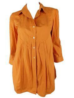 Marni Cotton Amber Tunic Blouse, Size 42/ US 6 #Marni #Tunic
