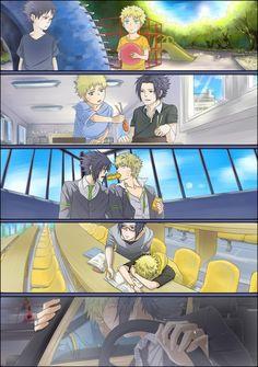 Imagen de naruto, yaoi, and sasuke