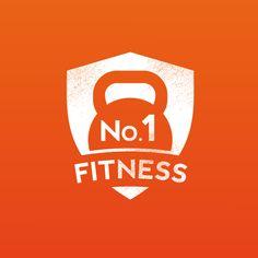 Logo ontwerp voor No.1 Fitness Bakel