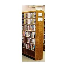 "W.C. Heller Double Face Shelf Adder 96"" Standard Bookcase Size: 96"" H x 36"" W x 24"" D, Finish: Cherry Mahogany"