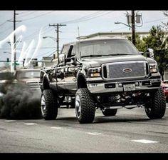 www.DieselTruckGallery.com Lifted Power Stroke Diesel Rollin Coal