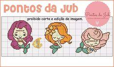Cross Stitch Baby, Cross Stitch Patterns, Knitting Patterns, Stitching Patterns, Pixel Crochet Blanket, Hama Beads, Under The Sea, Comic, Cross Stitching